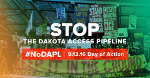 No Dakota Access Pipeline day of action