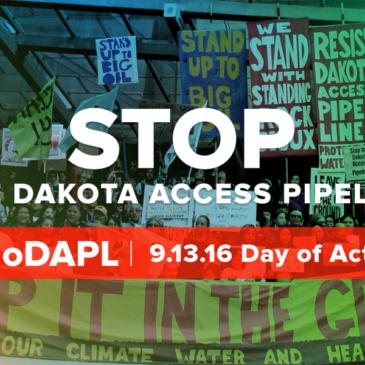 No Dakota Access Pipeline day of action