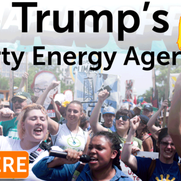 Stop Trumps Dirty Energy Agenda the Change starts here