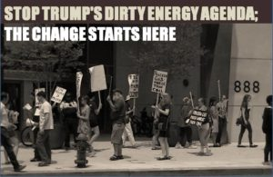 stop trumps dirty energy agenda flyer