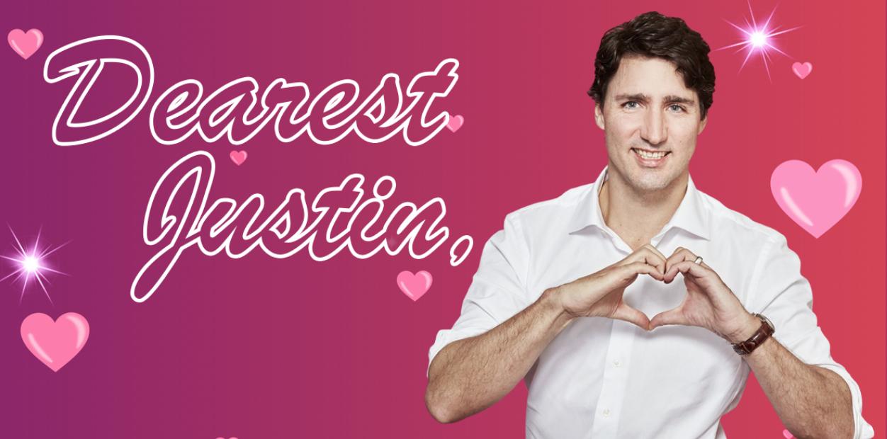 Dearest Justin ...