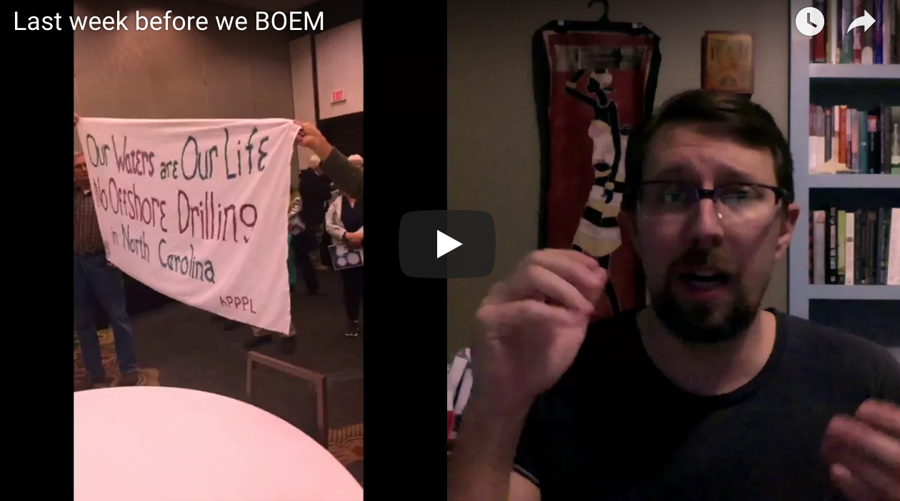 VIDEO: Last week to comment on the BOEM proposal