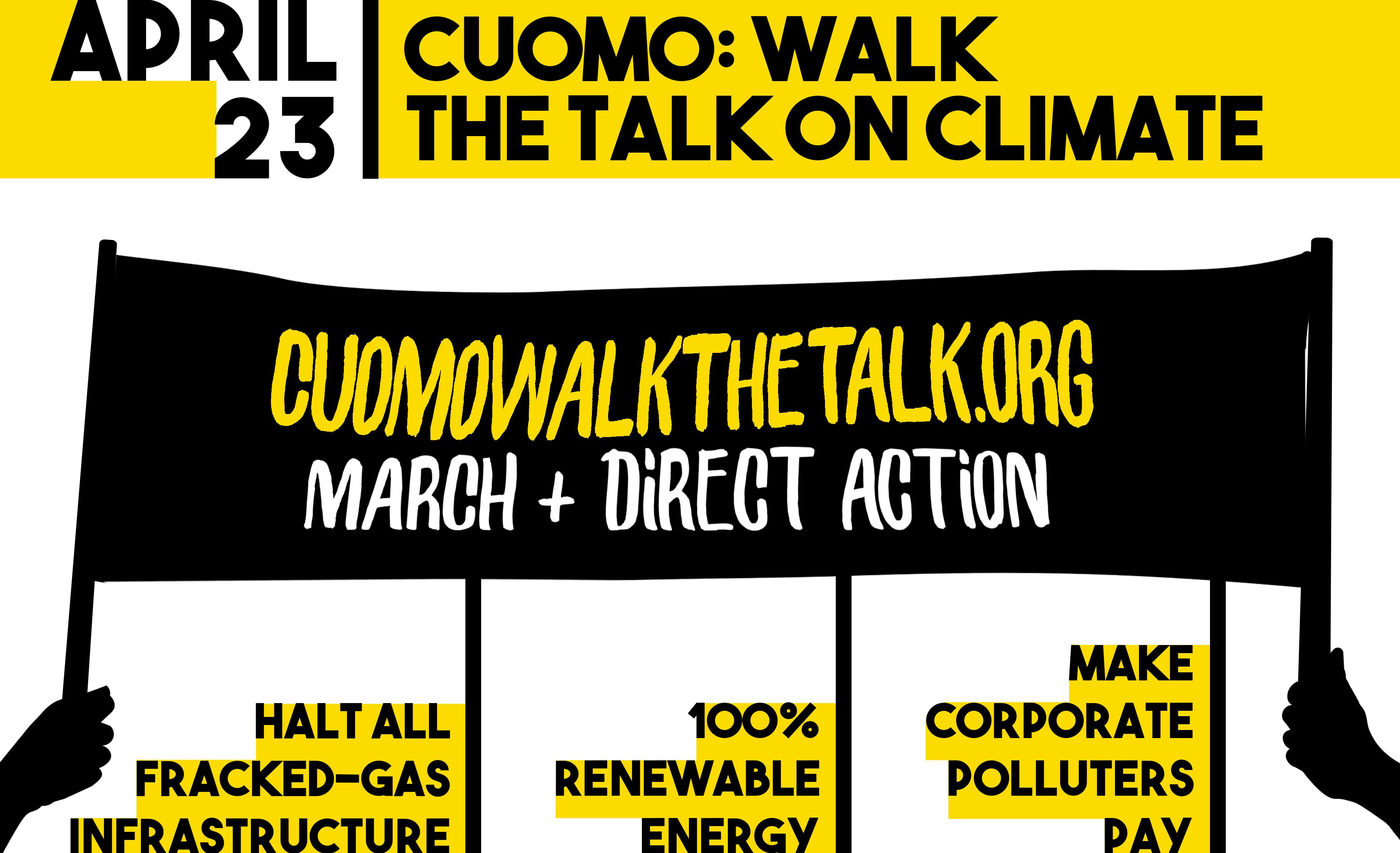 Cuomo walk the talk