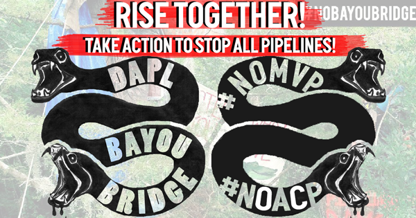 Rise Together to stop all pipelines!
