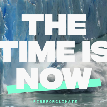 The Time is now to Rise for Climate, Jobs & justice