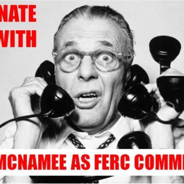 Make a call to stop McNamee