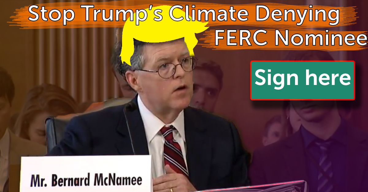 Bernard McNamee is Trump's FERC nominee