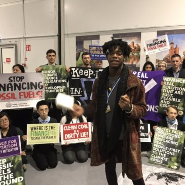 People's Demands action at COP24