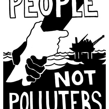People not polluters by Aaron Hughes