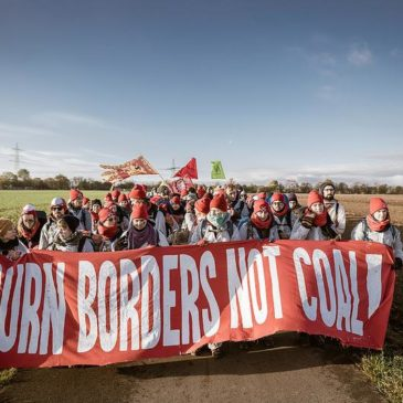 Burn Borders Not Coal