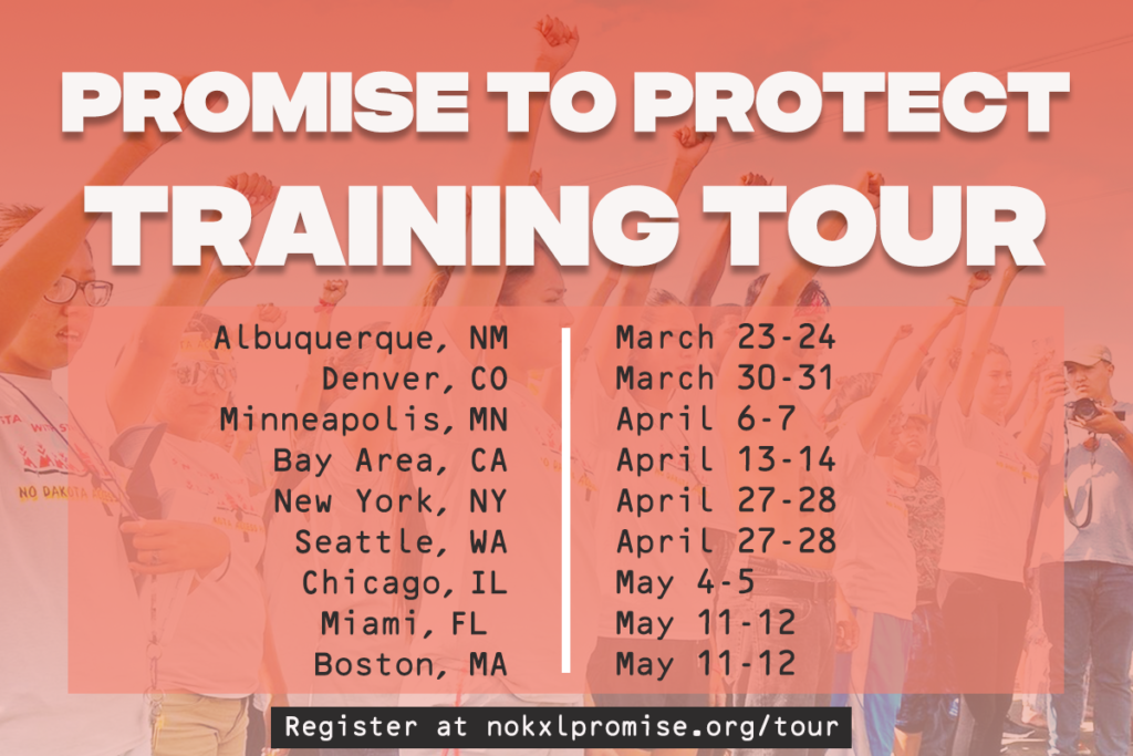 Promise to Protect training tour