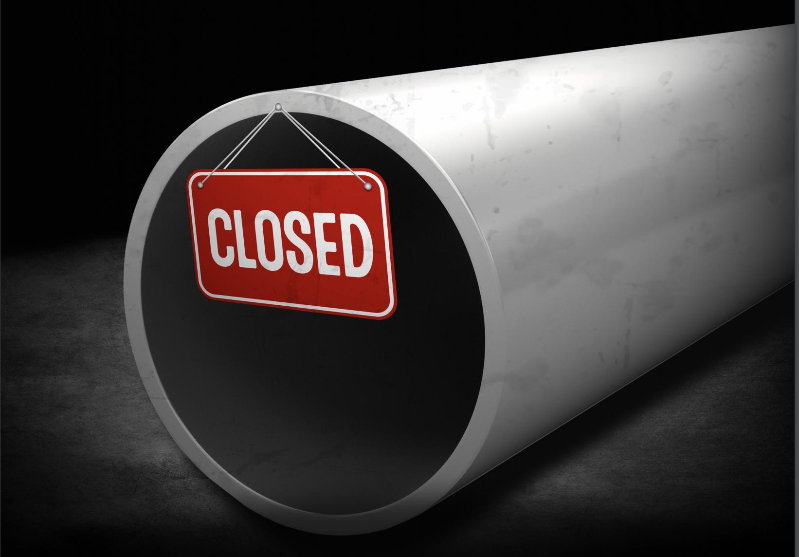 Pipeline Closed