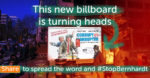 Our Bernhardt Billboard is turning heads