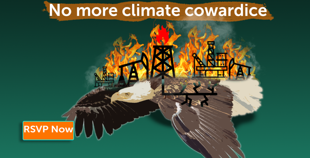 No More climate Cowardice
