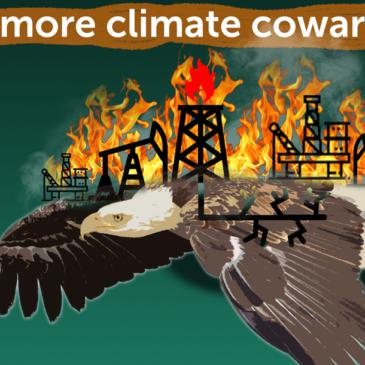 No More climate Cowardice