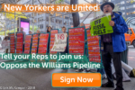Sign now to stop the williams pipeline
