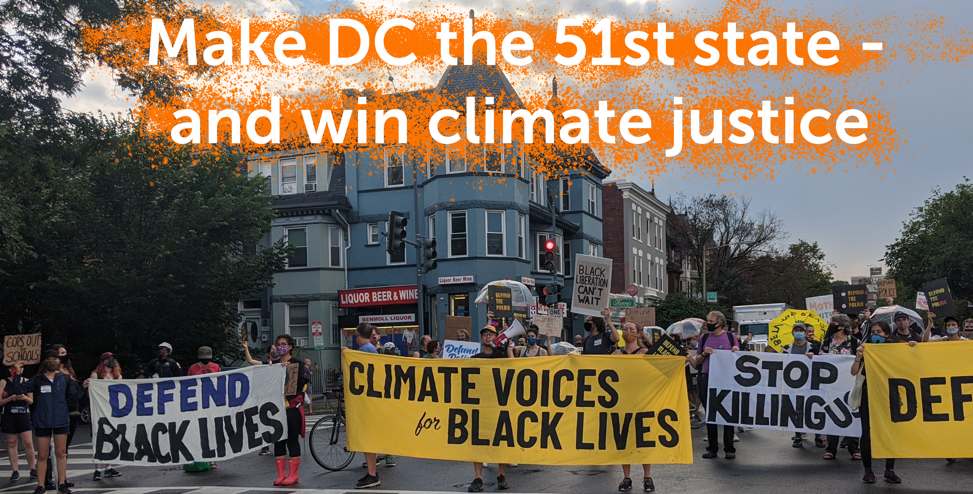 climate justice for black lives