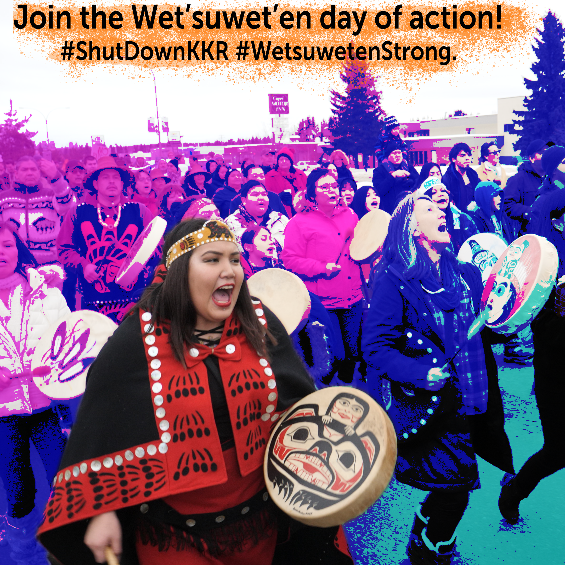 Join the Wet'suwet'en day of action!