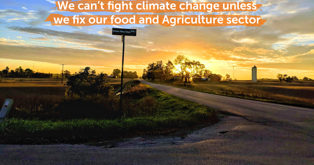 We can't fight climate change unless we fix our food and ag sectors
